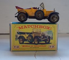 "Matchbox 1911 Daimler Y13 ""Models of Yesteryear"""