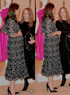 The Duchess of Cambridge hosts Commonwealth Fashion Exchange Reception at Buckingham Palace om February 19,2018.