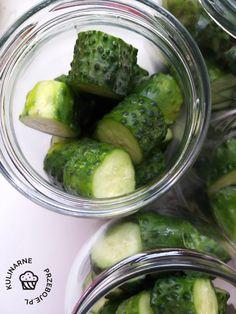 Ogórki w miodzie do słoików na zimę - KulinarnePrzeboje.pl Pickles, Cucumber, Food, Pickle, Zucchini, Pickling