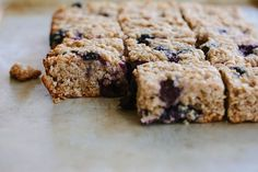 Blueberry, lemon + quinoa slice (gluten + dairy-free)