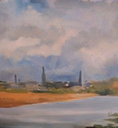 Old Bridge Co louth.Looking back to Drogheda.Oil on Bridge, Paintings, Oil, Paint, Painting Art, Bridges, Painting, Painted Canvas, Bro
