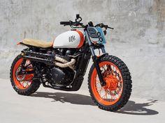 custom Triumph Bonneville, custom Triumph scrambler, bonneville, scrambler, triumph motorcycle,