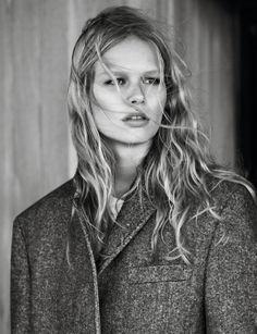 Anna Ewers photographed by Josh Olins for Vogue Paris, October 2013