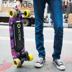 The Acton Blink Board is the lightest cheapest electric #skateboard yet. It's only $499 -- at least half as expensive as many of its competitors -- and weighs just nine pounds. It can go six miles on a charge and tops out at 15 miles per hour. #sk8 #skatelife by verge