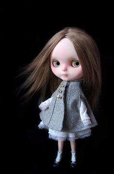 Juliet Custom Blythe doll Gertie by FaustoyGretchen