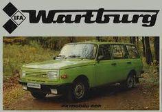 Resultado de imagen de RDA trabant ultimo version familiar verde