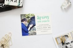 Spring Mini Sessions 5X7 Template by AllyJCreative on Creative Market