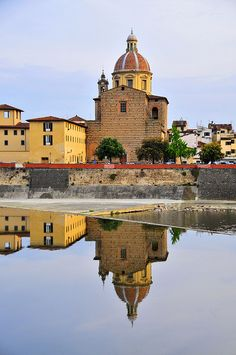   ♕   San Frediano in Cestello - Florence, Italy   by © Miguel Martí