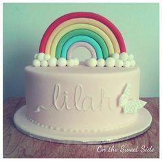 rainbow cake...love the monochromatic name