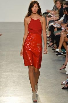 #NYFW - Runway: #Thakoon Spring 2014 Ready-to-Wear Collection