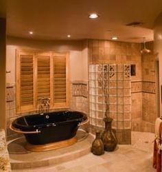 runde dusche