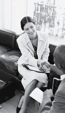 The saying that there's only once chance to make a first impression rings true when it comes to job interviews. Potential employers don't just base their judgment on behavior and qualifications. Employees are often the unofficial spokesmodels of a company, so employers want them to convey a professional, put-together image. Whether it's a corporate or creative atmosphere, colors are just as important as the clothing you wear. Consider the industry and the job role before raiding your closet…