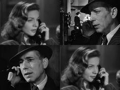 Calling You.   Humphrey Bogart y Lauren Bacall en:  La senda tenebrosa, Dark Passage, 1947, Delmer Daves