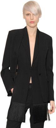 Shop Now - >  https://api.shopstyle.com/action/apiVisitRetailer?id=527477919&pid=2254&pid=uid6996-25233114-59 Heavy Satin Fringed Vest & Jacket  ...