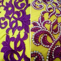 Before and after new custom beauty in the oven! #jadastudio #bellydancecostume #bellydance #crystals #lace #customdesign #костюмдлятанцаживота #пошивкостюмов #дизайнкостюмов #восточныетанцы #танецживота