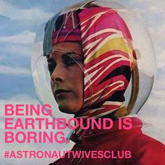 Being Earthbound is Boring. Keep Calm and #AstronautWife on. Best book to pack for a psychedelic rocket trip into space? #ASTRONAUTWIVESCLUB  #ReadTheBook that inspired the ABC Television series #bestseller #bookclub #astronautwives #summerread #summerreading #beachread #60s #vintage #retro #pucci #space #spaceage #fashion