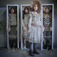 Ein russischer Künstler macht so realistische Puppen, dass man davon Gänsehaut bekommt! Wow, was für ein Talent! - DIY Bastelideen