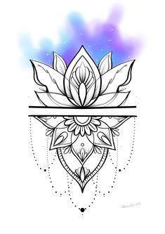 Mandala Thigh Tattoo, Geometric Mandala Tattoo, Mandala Tattoo Design, Chicanas Tattoo, Body Art Tattoos, Sleeve Tattoos, Mandala Tattoos For Women, Back Tattoo Women, Flower Tattoo Drawings