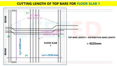 In this article you can know how to calculate steel quantity for slab manually. which you can apply in excel Civil Engineering Software, Civil Engineering Books, Civil Engineering Design, Civil Engineering Construction, Design Engineer, Split Level House Plans, Framing Construction, Steel Structure Buildings, Floor Slab