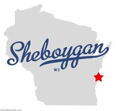 sheboygan photos | Map of Sheboygan Wisconsin WI