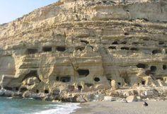 matala-caves-crete                                                                                                                                                      Plus