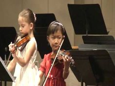 group performance --Concerto in A Minor (suzuki book 4); girl in Charlotte, NC, played Concerto in A Minor, Op3, No6, 1st mvt by Vivaldi (suzuki book 4)with 3 other kids […] in SC. See more of this young violinist #from_zxz118
