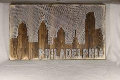City Skyline String Art (or CityScape) – StringKits