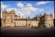 Edinburgh Scotland Palace of Holyroodhouse
