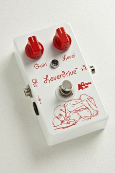 Alen Geere Loverdrive analog boutique guitar effect overdrive pedal stompbox.