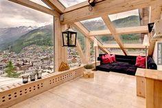 1. Chalet Heinz Julen閣樓俯瞰著瑞士採爾馬特