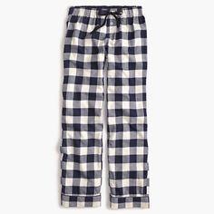 Crew Womens Petite Buffalo Check Pajama Pant (Size S Petite) J Crew Pajamas, Cute Pajamas, Kids Pajamas, Pajamas Women, Cute Christmas Pajamas, Holiday Pajamas, Cotton Sleepwear, Sleepwear & Loungewear, Cotton Pyjamas