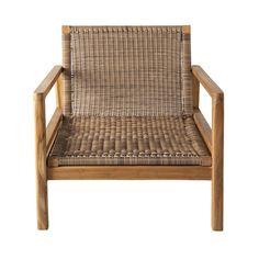 Soren Teak Outdoor Armchair with Cushions