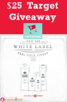 ENTER $25 Target Giveaway http://freebies4mom.com/taketheleap  AD (ends May 9)  AXE® Racing Contest mentorship w/ Kyle Larson TakeTheLeap
