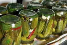 Zakryvaem-ogurtsy-na-zimu-500x278 Ketogenic Recipes, Keto Recipes, Healthy Fridge, Canning Recipes, Celery, Preserves, Chocolate Cake, Pickles, Cucumber