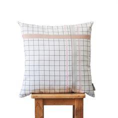Modern Pink & Gray Decorative Pillow Nursery by LoveJoyCreate