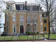 Culbertson Mansion New Albany, IN  1869