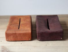 ティッシュボックスケース(キャメル)(再販)の画像5枚目