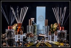 Handcrafted Perfumes For You and Your Home