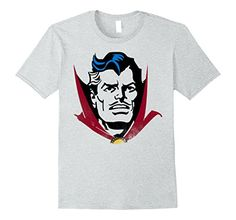Marvel+Comics+Retro+Shirt Products : Marvel Doctor Strange Classic Retro Comic Big Head T-Shirt