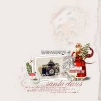 2013-DecemberDays5 Digital scrapbooking page, supplies by Designer Digitals