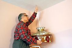 If you want to hang something from a wall or ceiling but need some extra support that a standard screw or nail won't provide, you can use a screw hook. A screw hook looks exactly like it sounds. Its straight screw side that fits into a wall or ceiling with a hook on the end so objects, such as plants, holiday decorations or wreaths can hang from...