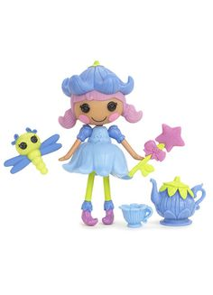 Black Friday 2014 Mini Lalaloopsy Doll - Bluebell Dewdrop from Lalaloopsy Cyber Monday. Black Friday specials on the season most-wanted Christmas gifts. Toys For Girls, Games For Girls, Lalaloopsy Mini, Minnie Mouse Toys, Black Friday Specials, Toy R, Toy Organization, Miniature Dolls, Doll Accessories