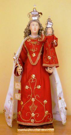 Madonna del Carmelo stile 700 napoletano