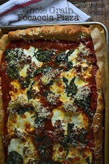 Gluten-free Whole Grain Focaccia Pizza great site with some wonderful recipes!