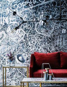 Wall mural Verona from Rebel Walls in Real living Australia august 2015