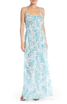 MICHAEL Michael Kors 'Latana' Cotton Cover-Up Maxi Dress