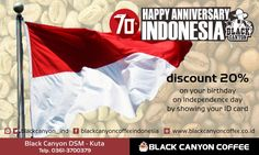 "Get Discount 20% on your birthday on Independence day by showing your ID card. "" Bali World Premier Beach Mall "" Discovery Shopping Mall, Jl. Kartika Plaza, Kuta 80361 Phone : 0361 755522 Website : www.discoveryshoppingmall.com https://twitter.com/DISCOVERY_Bali http://pinterest.com/dsmbali http://instagram.com/dsmbali http://www.facebook.com/pages/discovery-shopping-mall/ http://www.tripadvisor.co.id/Attraction_Review-g297697-d160… https://www.tumblr.com/blog/discoveryshoppingmallblog Path…"