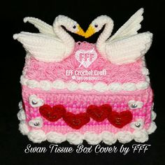 Crochet tissue box cover swan fff crochet craft by fredolina crochet swan tissue box cover by fff tissueboxcover swan fffcrochetcraft ccuart Choice Image