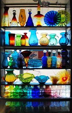 Beautiful Blenko Glass. Pinned by a Taste Setter. www.thetastesette...