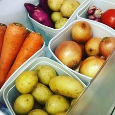 potes de sorvete Fun Crafts, Fruit, Vegetables, Kitchen, Diy, Food, Home Decor, Organization, Instagram